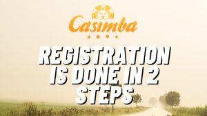 Casimba Casino Registration